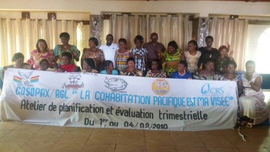 ATELIER DE PLANIFICATION ET EVALUATION TRIMESTRIELLE/COSOPAX/RGL